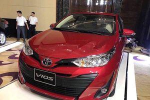 Hình ảnh Toyota Vios 2018 bất ngờ lộ diện trước ngày ra mắt
