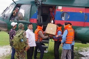 Gần 1.000 quân nhân Việt Nam giúp Lào khắc phục sự cố vỡ đập thủy điện