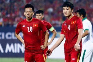 Văn Quyết tạm thay Xuân Trường làm đội trưởng U23 Việt Nam