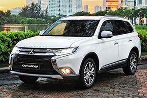 Xe Mitsubishi Outlander giảm giá tới 51 triệu tại Việt Nam