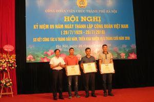 Thiết thực kỷ niệm 89 năm ngày thành lập Công đoàn Việt Nam
