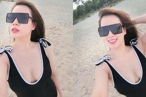 Vợ MC Thành Trung khoe dáng nuột nà, xinh không kém hotgirl