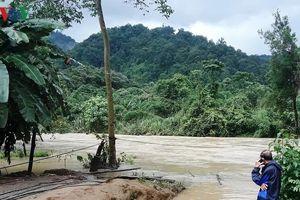 Tìm thấy thi thể nạn nhân đu dây qua sông bị nước cuốn mất tích ở Lâm Đồng