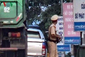 Công an tỉnh Bình Thuận: Cảnh sát giao thông không nhận mãi lộ