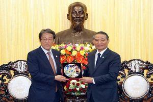 Tăng cường hợp tác nhiều lĩnh vực giữa TP Đà Nẵng với Nhật Bản và tỉnh Salavan (Lào)