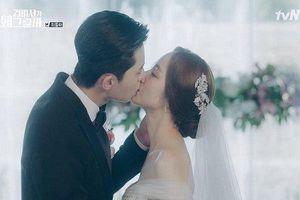 Rụng tim cảnh Park Min Young diện váy cưới trong 'Thư ký Kim'