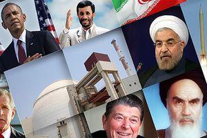 Nhìn lại mối quan hệ đầy 'sóng gió' giữa Mỹ và Iran