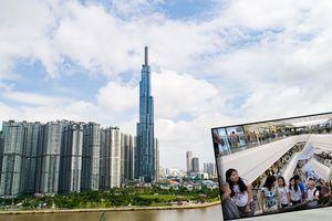 Khai trương Vincom ở tòa tháp cao nhất Việt Nam