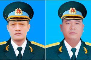 Truy thăng quân hàm cho 2 phi công hy sinh trong sự cố máy bay Su-22U