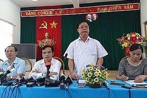 Khởi tố vụ án gian lận điểm thi THPT quốc gia tại Sơn La