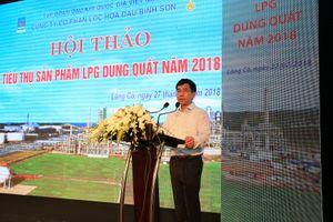 Đẩy mạnh tiêu thụ sản phẩm LPG của NMLD Dung Quất
