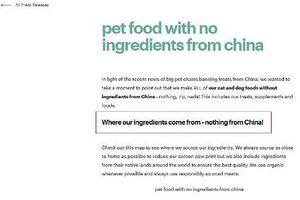 'Sản phẩm không chứa thành phần có xuất xứ Trung Quốc' trở thành tiêu chuẩn chất lượng!