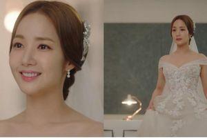 Park Min Young hóa cô dâu đẹp nhất màn ảnh trong tập cuối 'Thư kí Kim sao thế?'