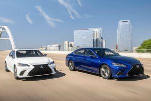Lexus ES 2019 giá từ 39.500 USD, đối thủ Mercedes E-Class