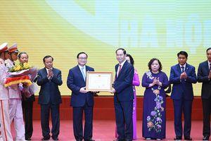 Toàn cảnh Lễ kỷ niệm 10 năm điều chỉnh địa giới hành chính Hà Nội