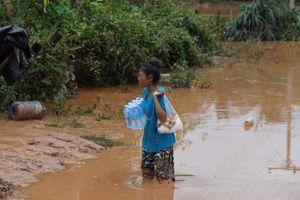 'Chưa tìm thấy thông tin về hơn 1.100 người' trong vụ vỡ đập ở Lào