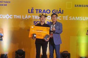 Sinh viên Việt tạo kỳ tích tại cuộc thi lập trình quốc tế Samsung SCPC 2018