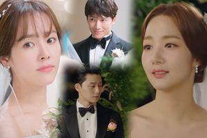 Hậu đám cưới 'Thư ký Kim', Ji Sung và Han Ji Min dẫn nhau vào lễ đường - Ai là cô dâu đẹp nhất?