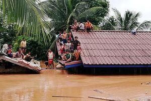 Tình người trong cơn lũ mang tên Sepian Senamnoy tại Lào
