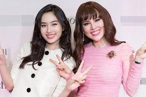 Hoa hậu Phương Lê đeo nhẫn kim cương 20 tỷ đồng đọ sắc với đệ nhất mỹ nhân chuyển giới