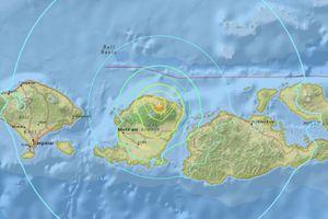 Động đất mạnh tại đảo du lịch Indonesia, 10 người thiệt mạng