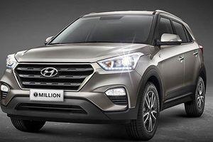 Hyundai Creta 1 Million với khóa vòng thông minh trình làng