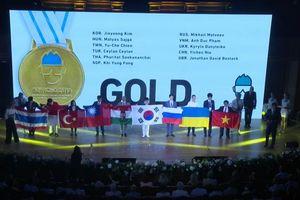 Việt Nam tiếp tục 'gặt vàng' tại Olympic Hóa học quốc tế 2018