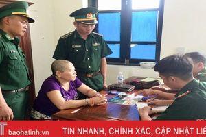 Bắt đối tượng vận chuyển ma túy từ Lào về Việt Nam qua Cửa khẩu Cầu Treo