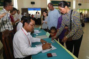 Bầu cử Quốc hội Khóa VI Campuchia diễn ra thành công