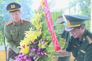 Giám đốc Công an tỉnh Đắk Lắk khảo sát tuyến biên giới Campuchia