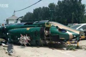 Trực thăng rơi ở Bắc Kinh, chưa xác định thương vong