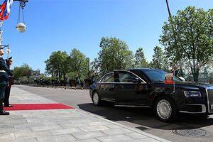 Siêu xe limousine Kortezh được chú ý hơn nhờ tổng thống Putin