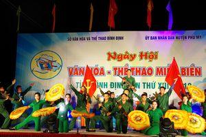 Sôi nổi Ngày hội văn hóa - Thể thao miền biển tỉnh Bình Định năm 2018