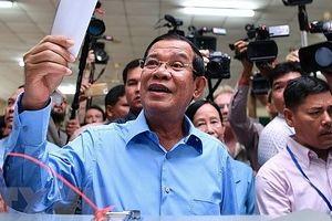 Lãnh đạo Việt Nam chúc mừng bầu cử Quốc hội Campuchia thành công
