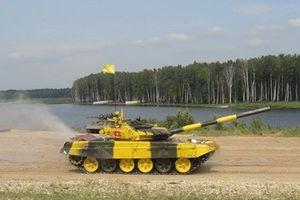 Lính tăng Việt Nam tham dự cuộc thi Tank biathlon tại Nga