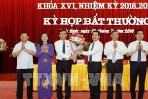 Kiện toàn chức danh Chủ tịch HĐND và Chủ tịch UBND tỉnh Thái Bình