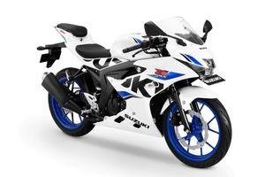 Suzuki GSX-R150 gây ấn tượng với màu sơn mới cá tính
