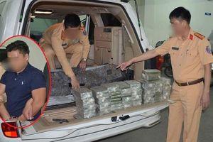 Bắt trùm ma túy dùng siêu xe Porsche vận chuyển 19 bánh heroin