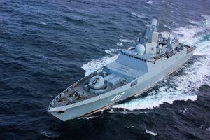 Đáng gờm sức mạnh kinh hạm mang tên Đô đôc Gorshkov của Nga