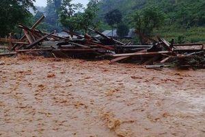 Cảnh báo lũ quét, sạt lở đất ở Lai Châu, Hà Giang, Sơn La