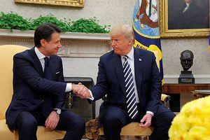 Lãnh đạo Mỹ và Italy 'tâm đầu ý hợp' trong vấn đề nhập cư và Nga