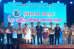 Khai mạc lễ hội Sâm Ngọc Linh lần thứ II năm 2018