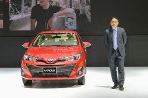 Toyota Vios 2018 ra mắt tại Việt Nam, giá từ 531 triệu đồng