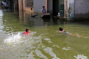 Vào 'ốc đảo' năm nào cũng lụt