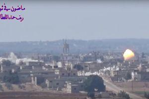 Tên lửa Syria giáng đòn dữ dội đánh quân thánh chiến tại Hama, Idlib