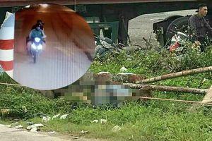 Camera ghi hình tài xế Grab bị sát hại cướp xe máy trong con hẻm vắng