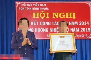 Bình Phước: Xóa tên đảng Phó Chánh văn phòng Hội NCT vì vi phạm điều lệ Đảng