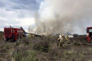 Không ai thiệt mạng trong vụ rơi máy bay chở 101 người ở Mexico