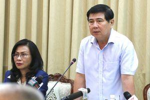 Chủ tịch UBND TPHCM: Đề nghị chuyển đổi công việc lãnh đạo không hoàn thành nhiệm vụ
