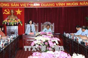 Đoàn công tác Ban Dân vận Trung ương làm việc tại tỉnh Bắc Kạn